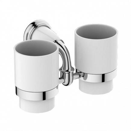 Два стакана Art&Max Bianchi хром AM-3688AW