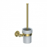 Щётка для унитаза Art&Max Antic Crystal золото