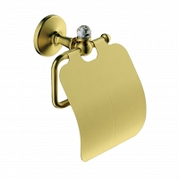 Держатель для туалетной бумаги Art&Max Antic Crystal золото