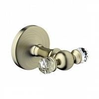 Двойной крючок Art&Max Antic Crystal бронза
