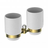 Два стакана Art&Max Antic Crystal золото