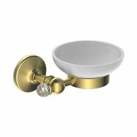 Мыльница Art&Max Antic Crystal золото