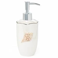 Дозатор для жидкого мыла Kassatex Mare Shells Pearl