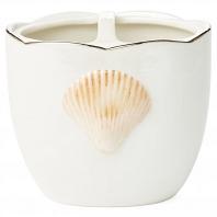 Стакан для зубных щеток Kassatex Mare Shells Pearl