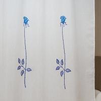 Шторка Arti-Deco Rosas C. Blue 180х200см