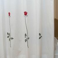 Шторка Arti-Deco Rosas C. Red 180х200см