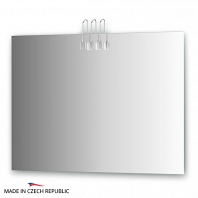 Зеркало со светильниками Ellux Artic 100х75см