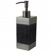 Дозатор для жидкого мыла Kassatex Parc East Grid Silver