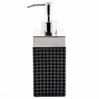 Дозатор для жидкого мыла Kassatex Parc East Bricks Black
