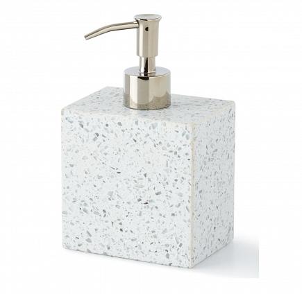 Дозатор для жидкого мыла Kassatex Terrazzo ATZ-LD-LGY