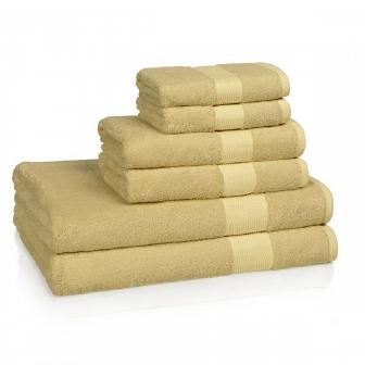Полотенце банное Kassatex Bamboo Bath Towels Sunflower BAM-109-SUF