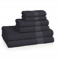 Полотенце для рук Kassatex Bamboo Bath Towels Deep Blue