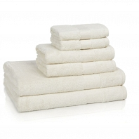 Полотенце для рук Kassatex Bamboo Bath Towels Ecru