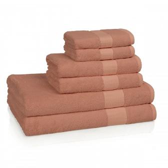 Полотенце банное Kassatex Bamboo Bath Towels Coral Большое BAM-113-COR