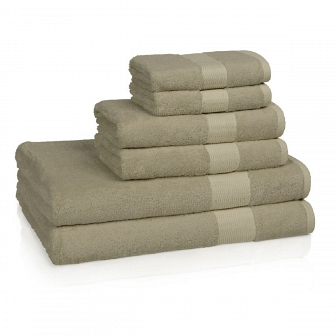 Полотенце банное Kassatex Bamboo Bath Towels Sandstone Большое BAM-113-SS