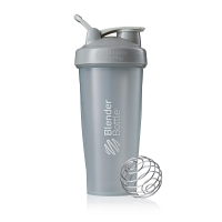 Шейкер BlenderBottle Classic 828мл Full Color Pebble Grey (серый графит)