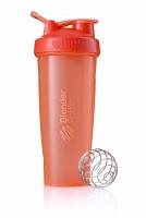 Шейкер BlenderBottle Classic 946мл Full Color Coral (коралловый)