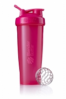 Шейкер BlenderBottle Classic 946мл Full Color Pink (малиновый)