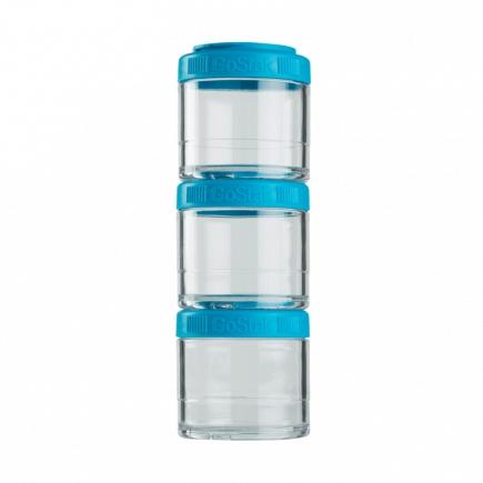 Контейнеры BlenderBottle GoStak 100мл (3 контейнера) голубой BB-G100-AQUA