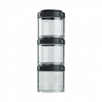 Контейнеры BlenderBottle GoStak 100мл (3 контейнера) черный BB-G100-BLCK