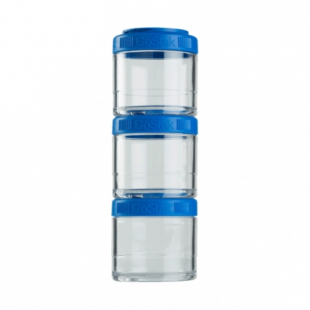 Контейнеры BlenderBottle GoStak 100мл (3 контейнера) синий BB-G100-BLUE