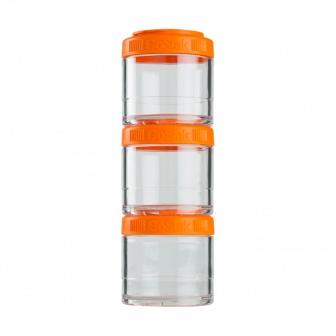 Контейнеры BlenderBottle GoStak 100мл (3 контейнера) оранжевый BB-G100-ORAN