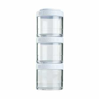 Контейнеры BlenderBottle GoStak 100мл (3 контейнера) белый BB-G100-WHIT