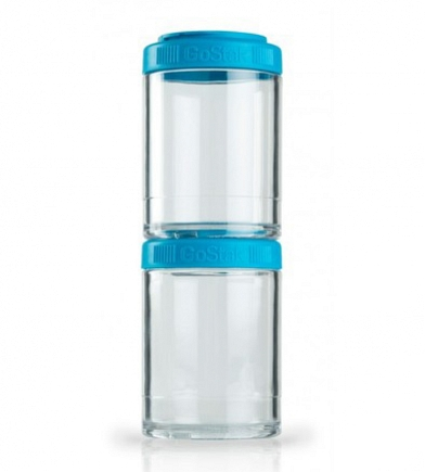 Контейнеры BlenderBottle GoStak 150мл (2 контейнера) голубой BB-G150-AQUA