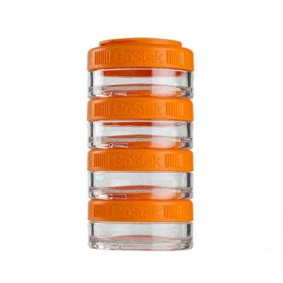 Контейнеры BlenderBottle GoStak 40мл (4 контейнера) оранжевый BB-GS40-ORAN