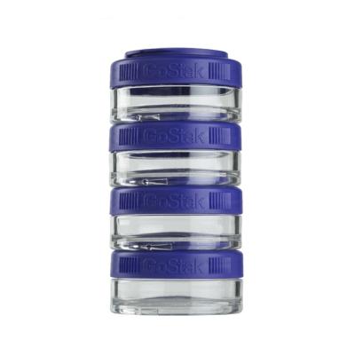 Контейнеры BlenderBottle GoStak 40мл (4 контейнера) фиолетовый BB-GS40-PURP