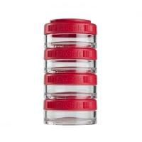 Контейнеры BlenderBottle GoStak 40мл (4 контейнера) красный