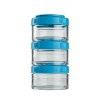 Контейнеры BlenderBottle GoStak 60мл (3 контейнера) голубой