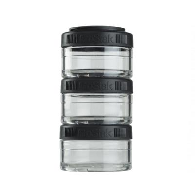 Контейнеры BlenderBottle GoStak 60мл (3 контейнера) черный BB-GS60-BLCK