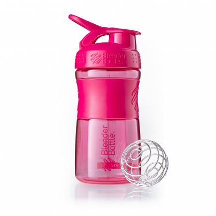 Шейкер BlenderBottle SportMixer 591мл Pink (малиновый) BB-SM20-CPIN