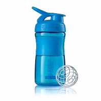Шейкер BlenderBottle SportMixer 591мл Cyan (бирюзовый)