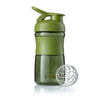 Шейкер BlenderBottle SportMixer 591мл Moss Green (оливковый)