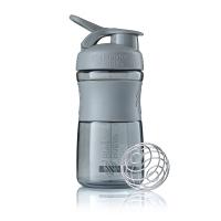 Шейкер BlenderBottle SportMixer 591мл Pebble Grey (серый графит)
