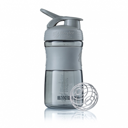 Шейкер BlenderBottle SportMixer 591мл Pebble Grey (серый графит) BB-SM20-PGRE