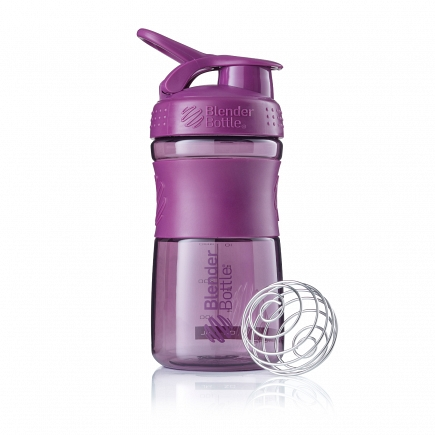 Шейкер BlenderBottle SportMixer 591мл Plum (сливовый) BB-SM20-PLUM