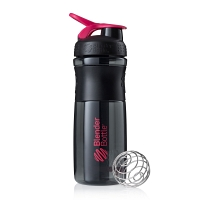 Шейкер BlenderBottle SportMixer 828мл Black/Pink (черный/малиновый)