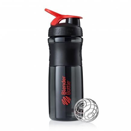 Шейкер BlenderBottle SportMixer 828мл Black/Red (черный/красный) BB-SM28-BRED