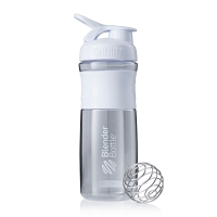 Шейкер BlenderBottle SportMixer 828мл Clear White (белый)