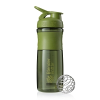 Шейкер BlenderBottle SportMixer 828мл Moss Green (оливковый)