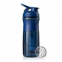 Шейкер BlenderBottle SportMixer 828мл Navy (неви)