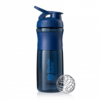 Шейкер BlenderBottle SportMixer 828мл Navy (неви) BB-SM28-NAVY