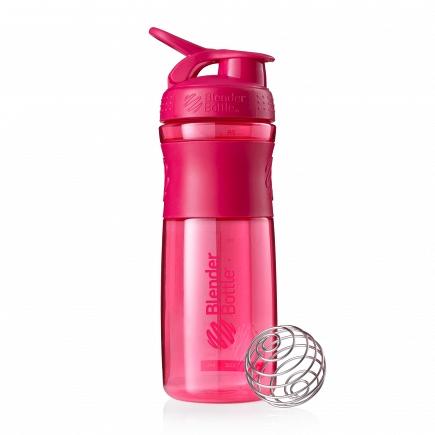 Шейкер BlenderBottle SportMixer 828мл Pink (малиновый) BB-SM28-PINK