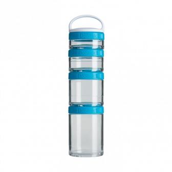 Контейнеры BlenderBottle GoStak Starter 4Pak (4 контейнера) голубой BB-STAR-AQUA