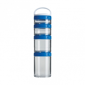Контейнеры BlenderBottle GoStak Starter 4Pak (4 контейнера) синий BB-STAR-BLUE