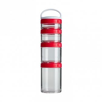 Контейнеры BlenderBottle GoStak Starter 4Pak (4 контейнера) красный BB-STAR-REDD