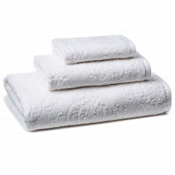 Полотенце для рук Kassatex Bedminster Damask White
